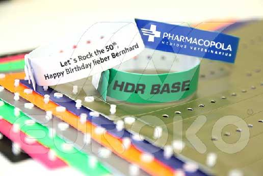 Vinyl Einlassbänder