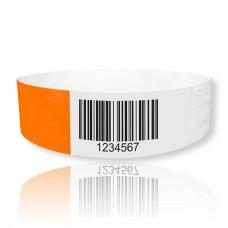 TYVEK Eintrittsbänder mit Barcode